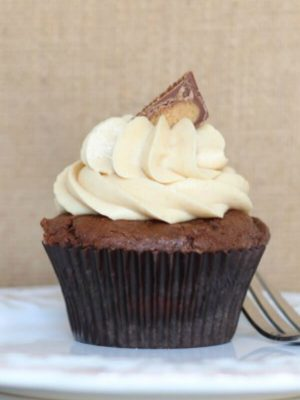 Chocolate Peanut Butter Cupcakes_