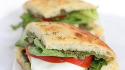 Grilled Chicken Pesto Sandwich Spoonful Of Flavor