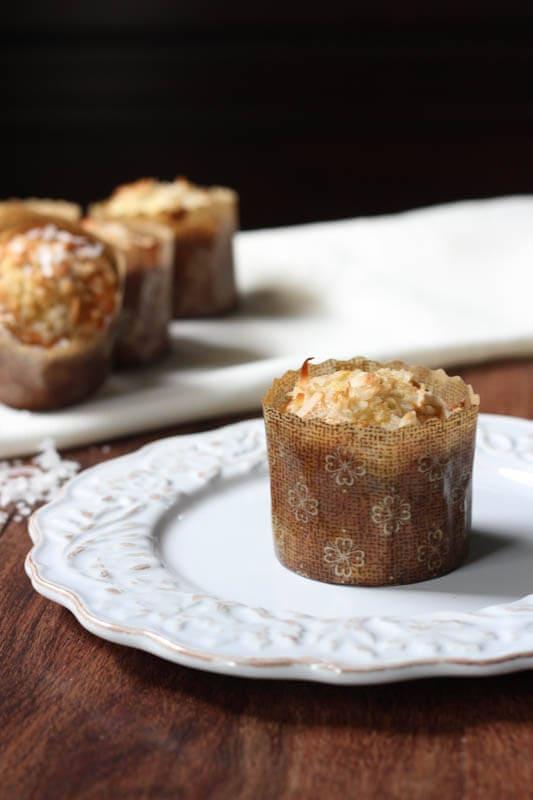 Banana Coconut Crunch Muffins