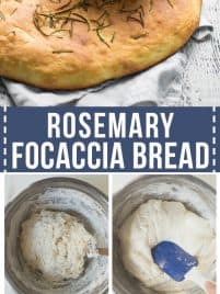 rosemary focaccia bread step by step instructions