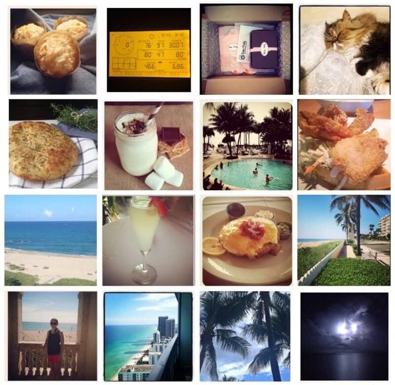 August 2013 Instagram