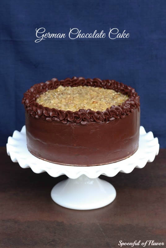 German Chocolate Cake Spoonful of Flavor