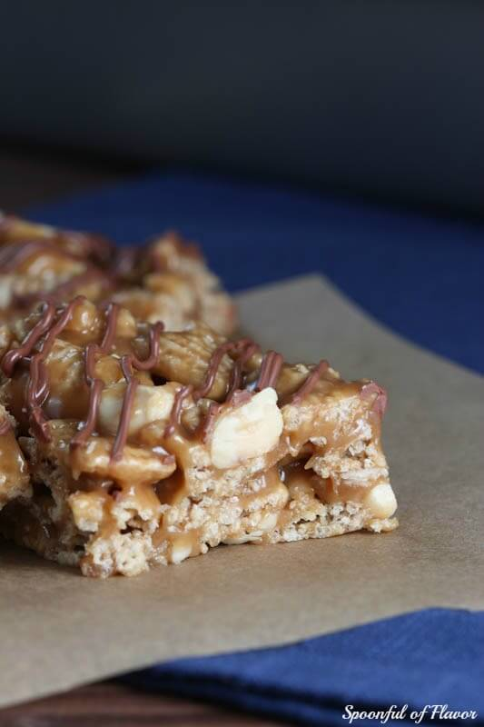 Peanut Butter Crunch Cereal Bars