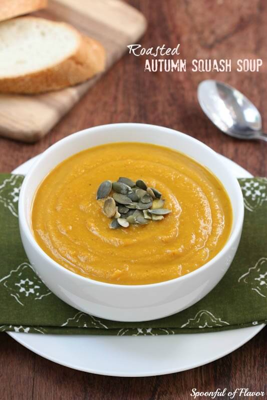Roasted Autumn Squash Soup