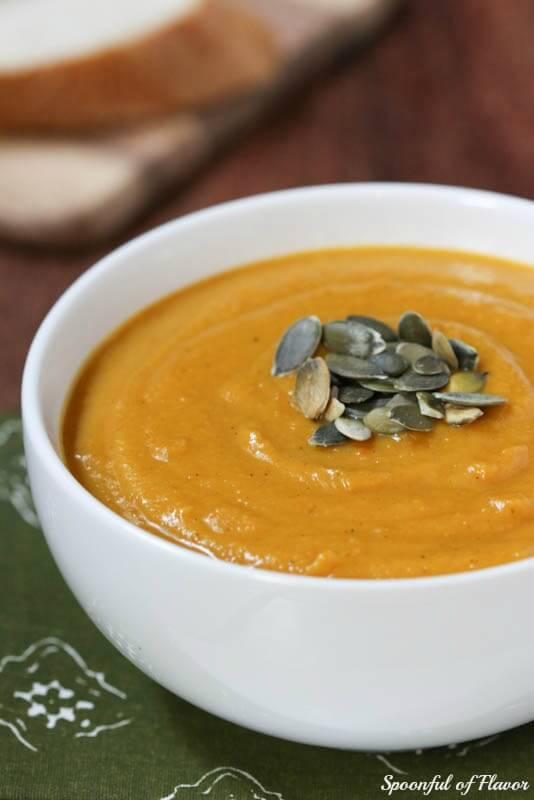 Roasted Autumn Squash Soup