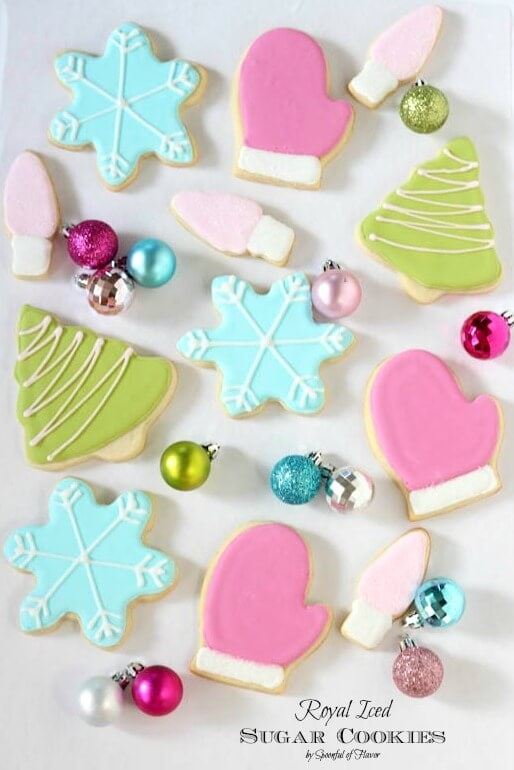 royal iced sugar cookies so pretty and fun for the holidays