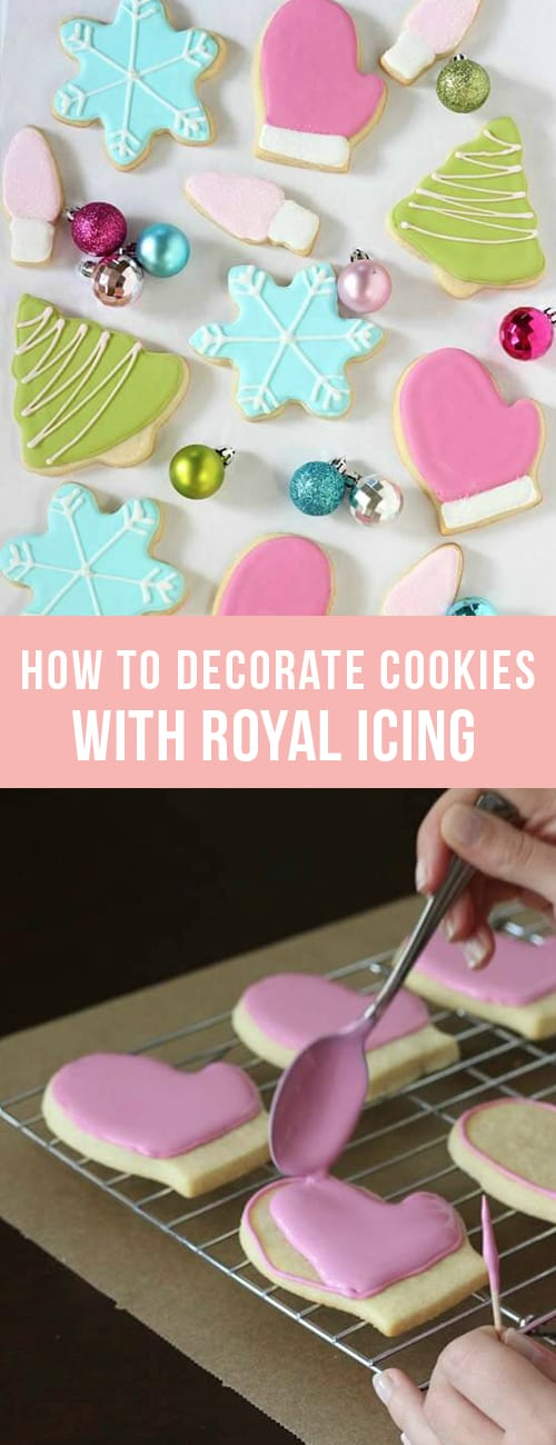 cookies with royal icing