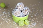Key Lime Coconut Energy Bites