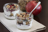 Pomegranate Yogurt Parfait