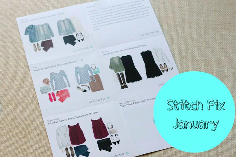 Stitch Fix - January 2014 Review