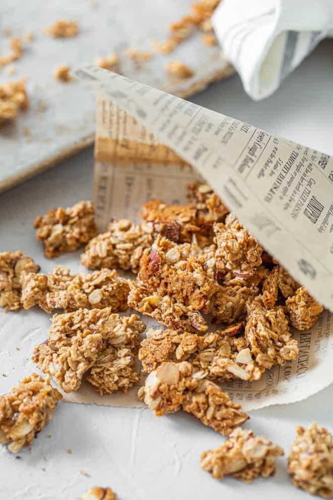 crunchy granola cluster recipe