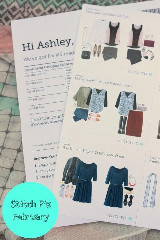 Stitch Fix - February 2014 Review