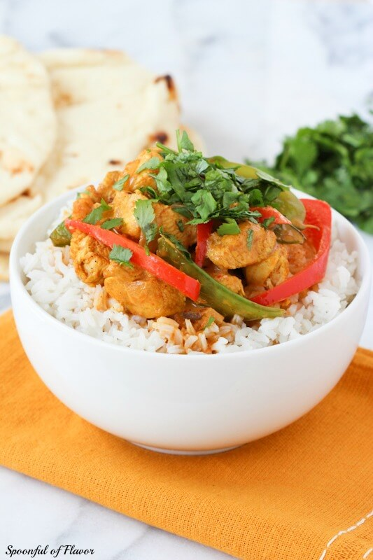 Coconut chicken curry spoonful of flavor coconut chicken curry save recipe forumfinder Image collections