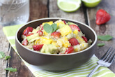 Strawberry, Mango and Avocado Quinoa Salad