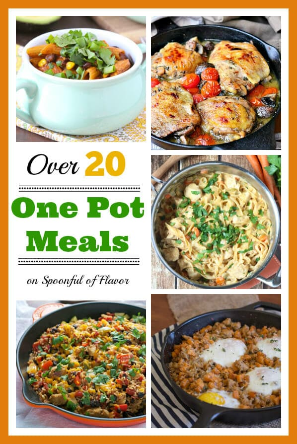 Over 20 One Pot Meals on Spoonful of Flavor