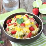 Strawberry, Mango and Avocado Quinoa Salad