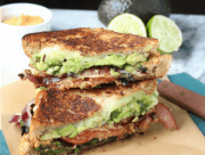 BLT Grilled Cheese (BLTGC) Recipe — Dishmaps