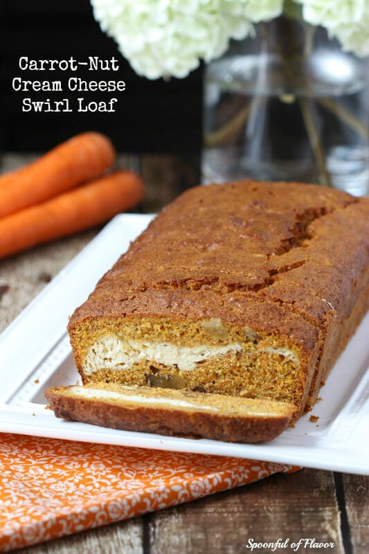 Healthy Carrot Loaf Cake Recipe