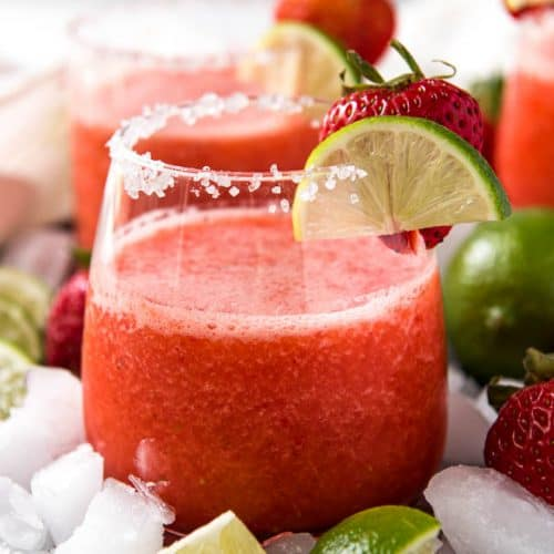 Best Frozen Strawberry Margarita Spoonful Of Flavor