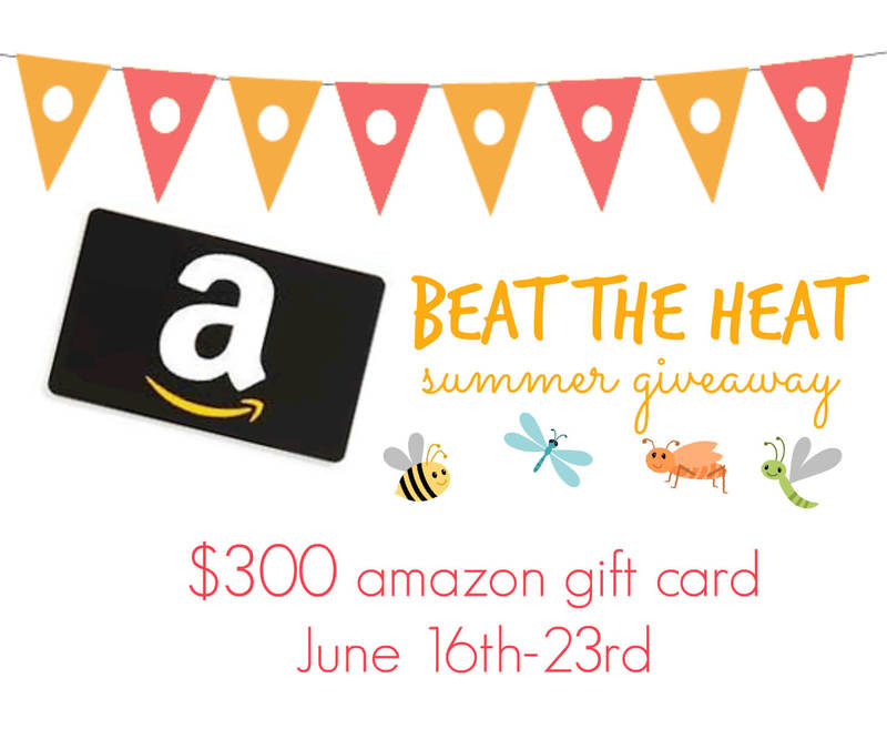 Summer Amazon Gift Card Giveaway