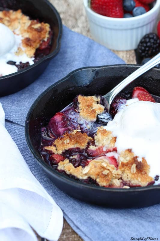 Almond-Oat Berry Bake