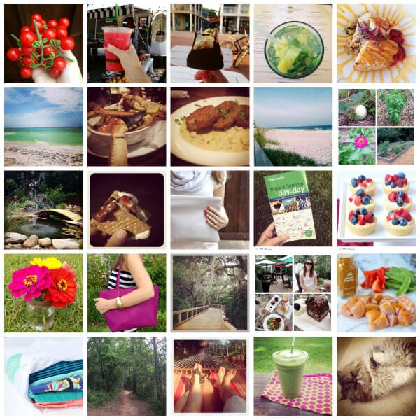 Instagram collage June 2014 on Spoonful of Flavor