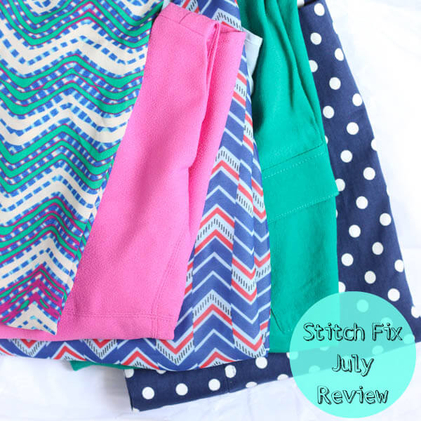 Stitch Fix July 2014 Review on Spoonful of Flavor