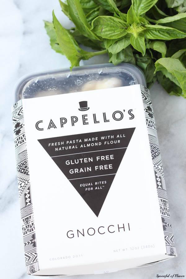 Easy Tomato Basil Pasta Recipe with Cappellos Gluten Free Pasta