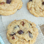 Salted Dark Chocolate Chunk Oatmeal Cookies - chewy, sweet and delicious! You won't be able to eat just one!