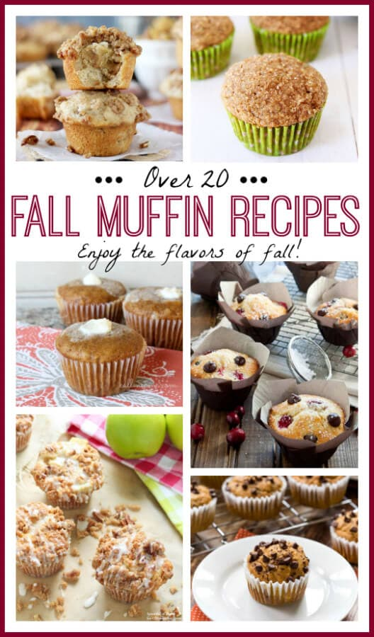 Over 20 Fall Muffin Recipes on Spoonful of Flavor