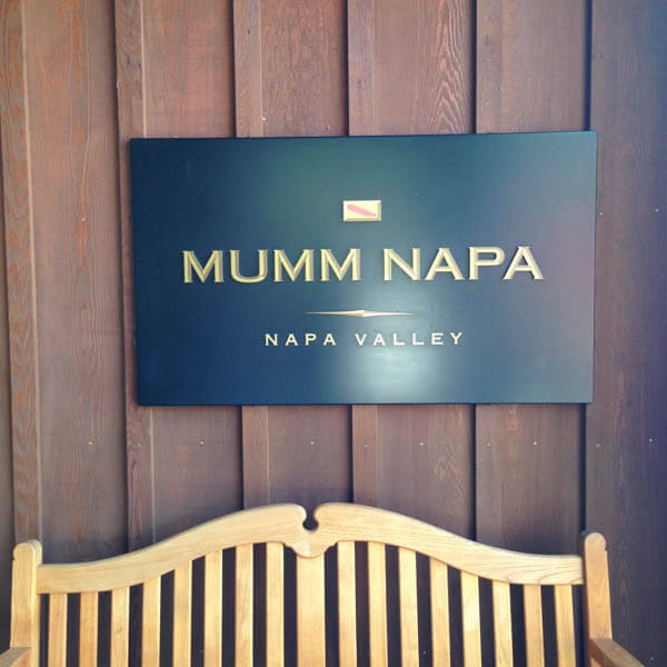 Mumm Napa Wine Tasting