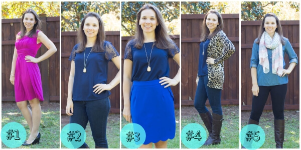 Stitch Fix October 2014 Review