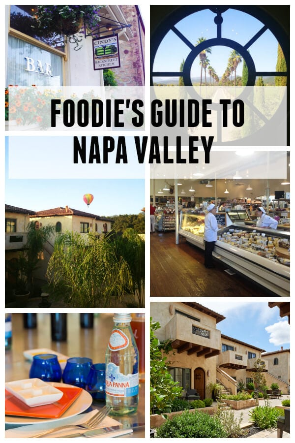 Foodie's Guide to Napa Valley