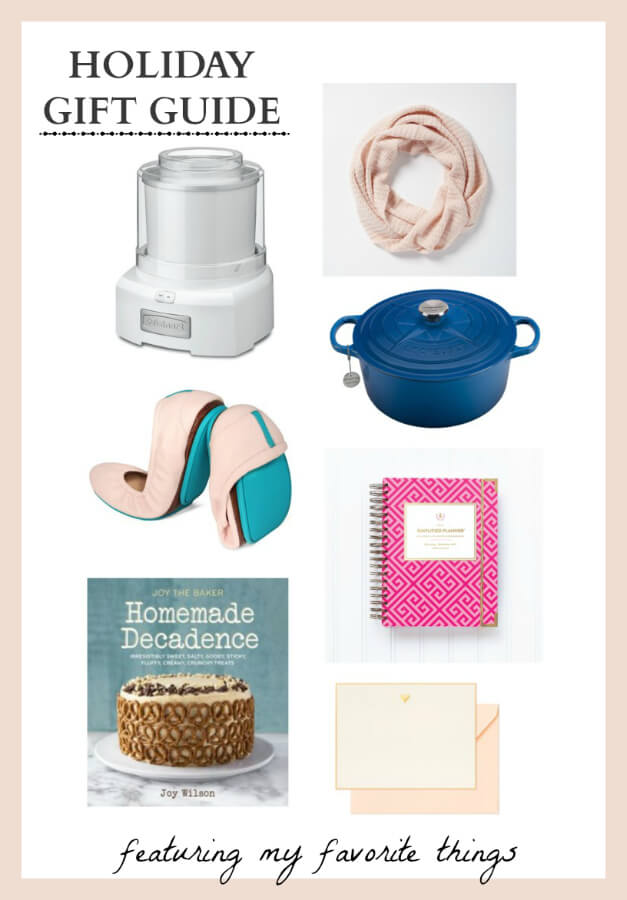 2014 Holiday Gift Guide Featuring my Favorite Things and a giveaway!