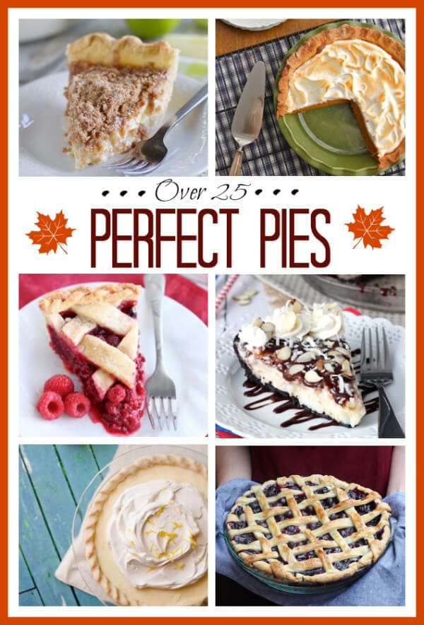 Over 25 Perfect Pie Recipes on Spoonful of Flavor