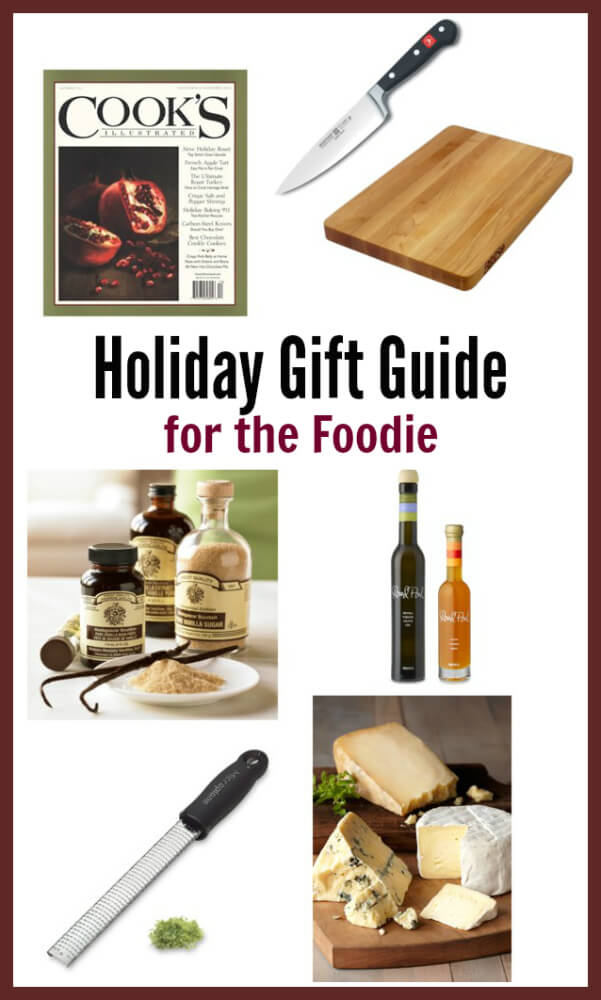 Holiday Gift Guide for the Foodie - gifts that any food love would love!