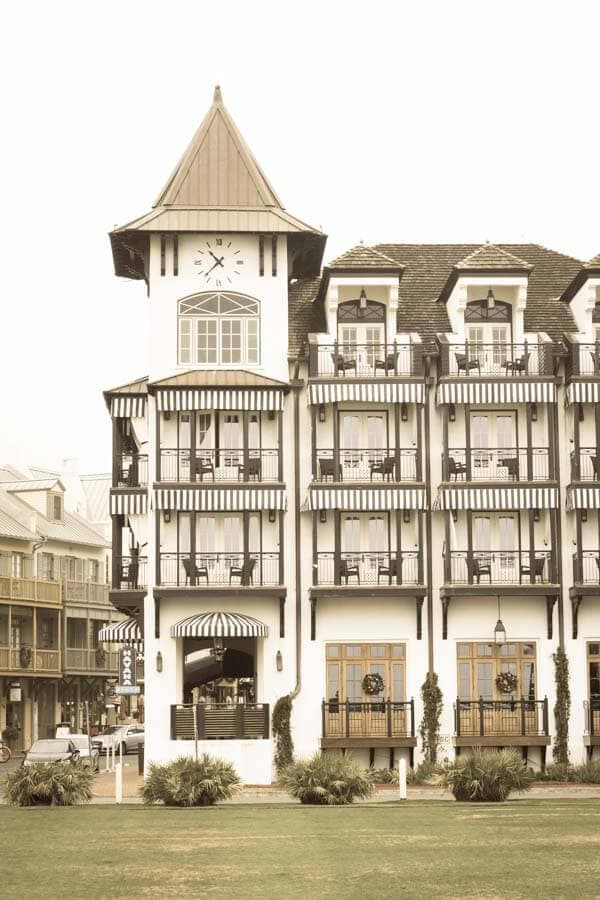 Visit The Pearl Hotel in Rosemary Beach, Florida - just steps from the stunning Gulf of Mexico beaches!