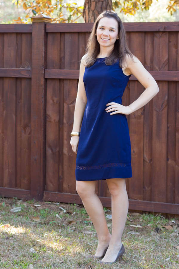 Stitch Fix Review February 2015 including this Brixon Ivy Penn Lace Detail Dress!