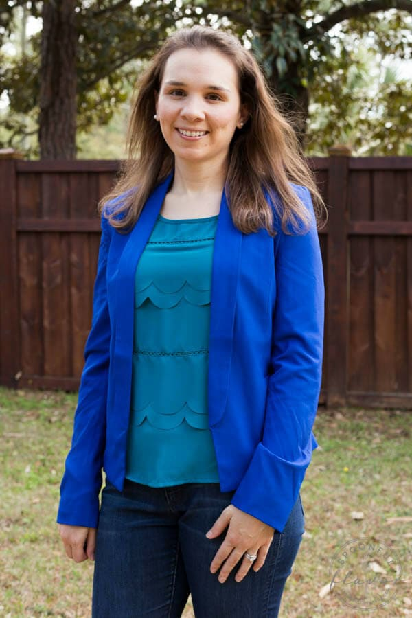 Stitch Fix Review March 2015 featuring Ark n Co Davina Open Blazer!