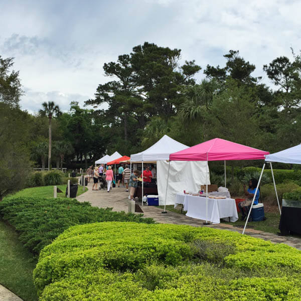 Day Trip to Amelia Island featuring the Amelia Island Farmer's Market!