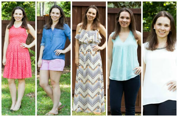 Stitch Fix Review April 2015 featuring Skies are Blue, Fate, Dear John, BRIXON IVY, and Daniel Rainn!
