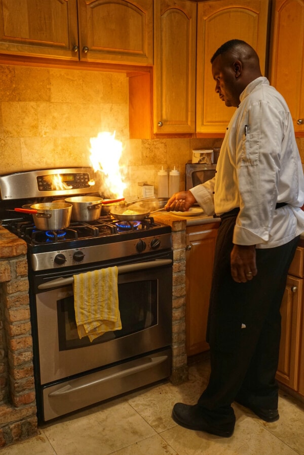 Unique Experiences in St John, USVI featuring dinner at your villa with a private chef!