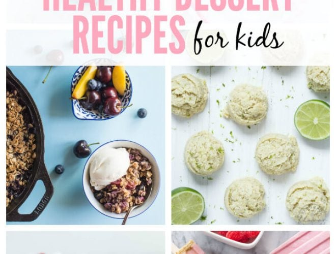 Healthy summer dessert recipes for kids spoonful of flavor healthy summer dessert recipes for kids featuring milkshakes popsicles cookies and more forumfinder Gallery