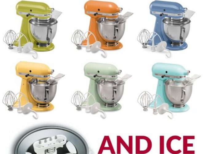 Stand mixer giveaway