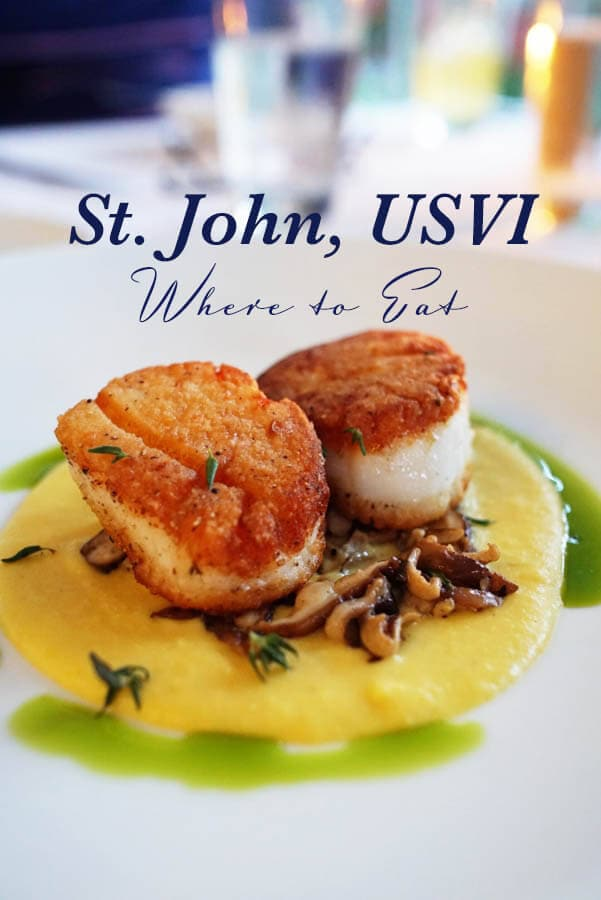 Where to eat in St John, USVI featuring Ocean 362, Zozo's, Caneel Beach Bar and Grill, Terrace Restaurant and more!