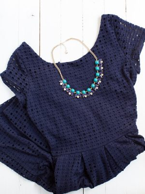 Stitch Fix September Review_Eight Sixty Gabre Eyelet Dress