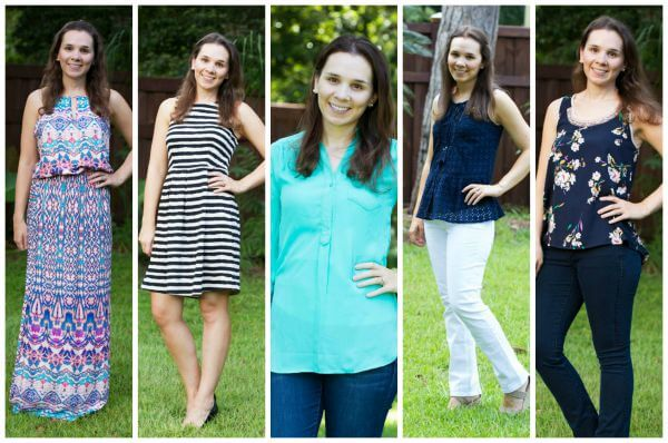 Stitch Fix Review August 2015 featuring 41Hawthorne, Renee C, THML, Daniel Rainn and Le Lis!