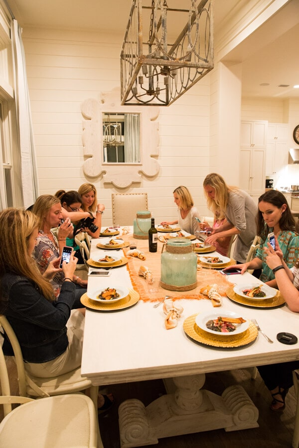 The Blogging Beach Retreat at WaterColor Inn & Resort was a 3-day food and travel blogger event in Santa Rosa Beach, Florida!