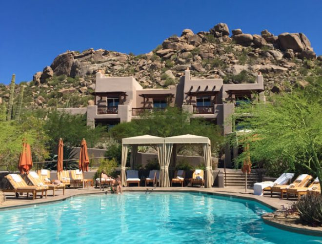 Four Seasons Resorts Scottsdale at Troon North is a desert oasis featuring Talavera Restaurant, Proof American Canteen and the Chef for a Day Program!
