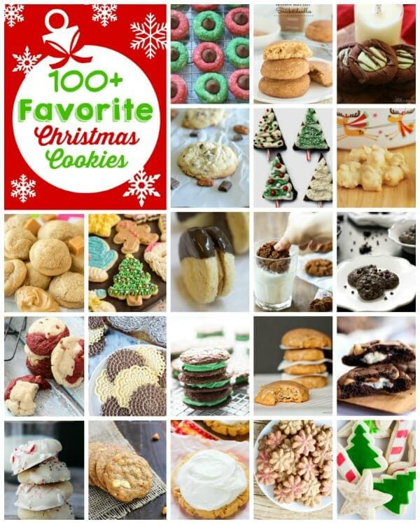 100 favorite christmas cookie recipes including sugar cookies chocolate cookies snickerdoodles and more